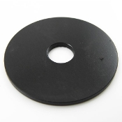 Black Seat Strut Mounting Washers, 8mm