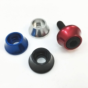 Aluminum Anodized Style Washers 6mm Hex socket head