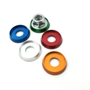 Aluminum Anodized Detailing Barrel 8mm, Anodized Assorted Colors