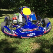2018 CKR Shifter Kart with Swedetech Rok 125cc Engine