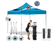 Master Canopies 10' x 10' Pop Up Square Tube Canopy