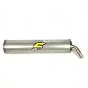 Elto TD2 Approved Exhaust Silencer for KZ Engines